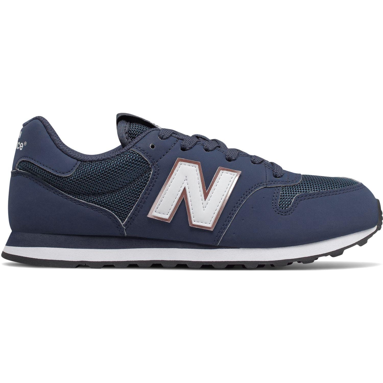 New Balance 500 Azul / blanco Walking
