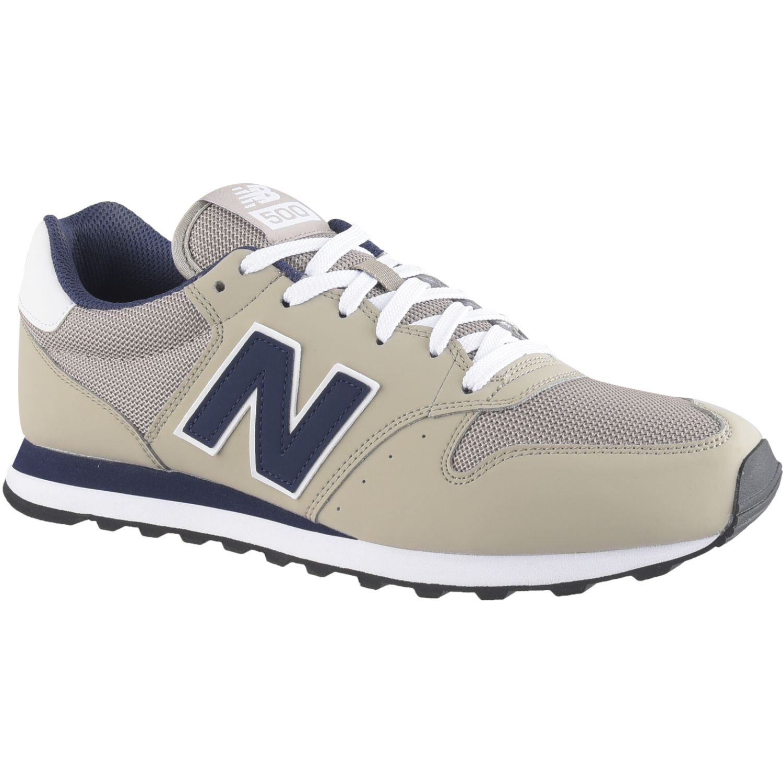 New Balance 500 Beige / azul Walking