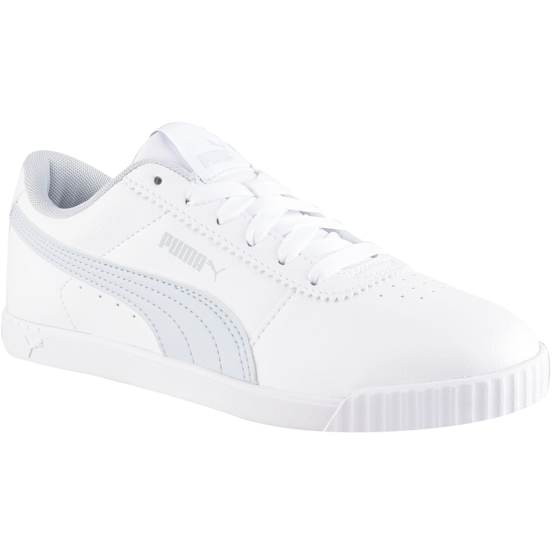 Puma carina slim sl Blanco / celeste Walking
