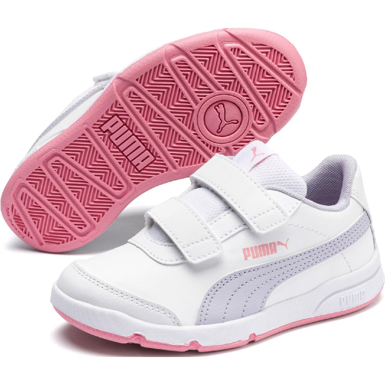 Puma stepfleex 2 sl ve v ps Blanco / rosado Walking
