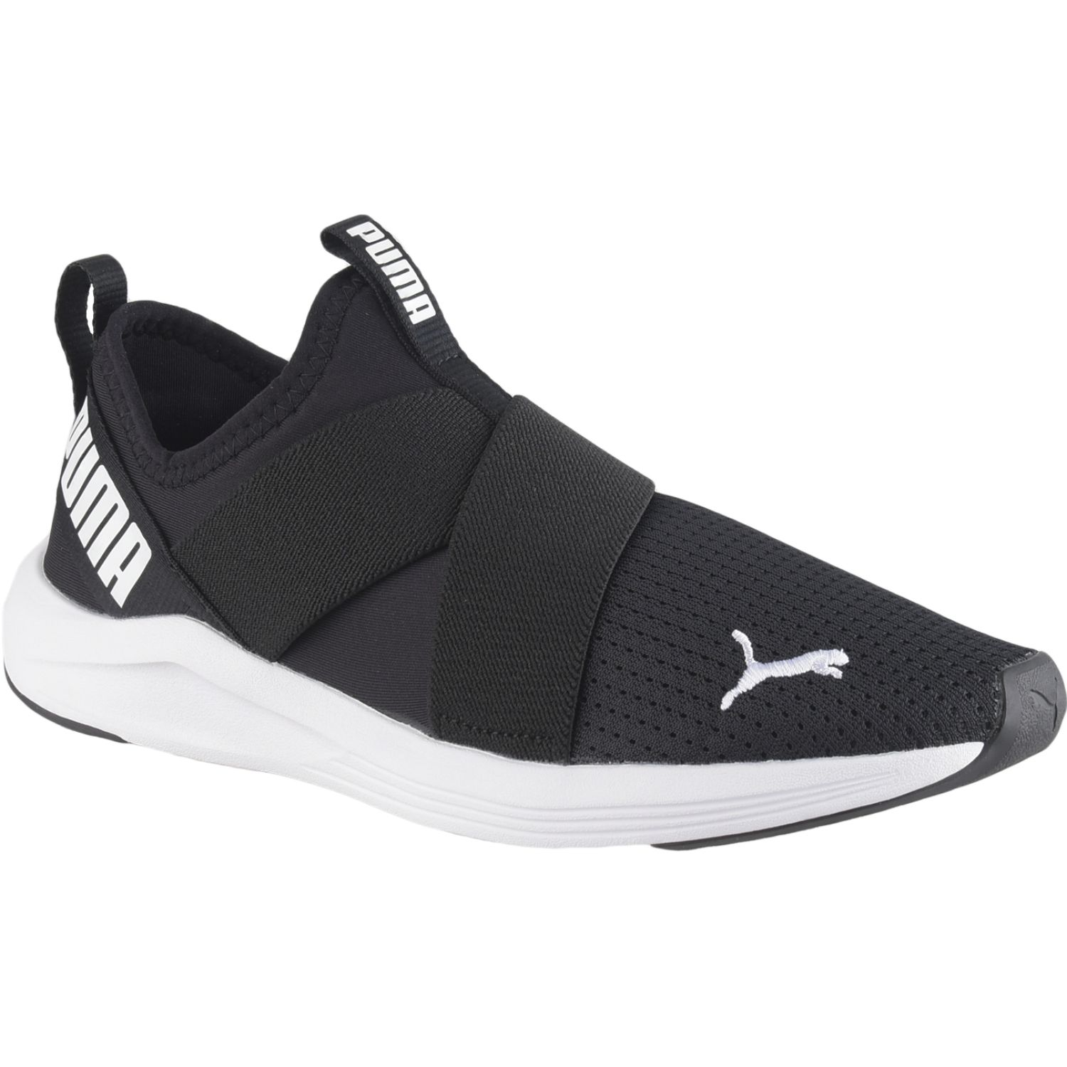 Puma Prowl Slip On Wns Negro / blanco Running en pista