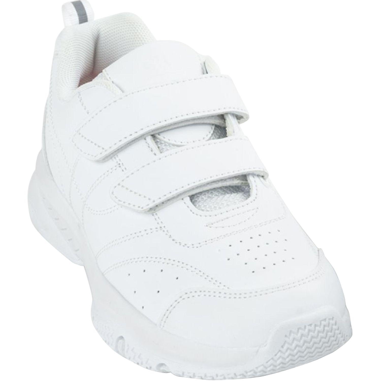 Colloky zapatilla 770710 unisex dos velcros Blanco Walking