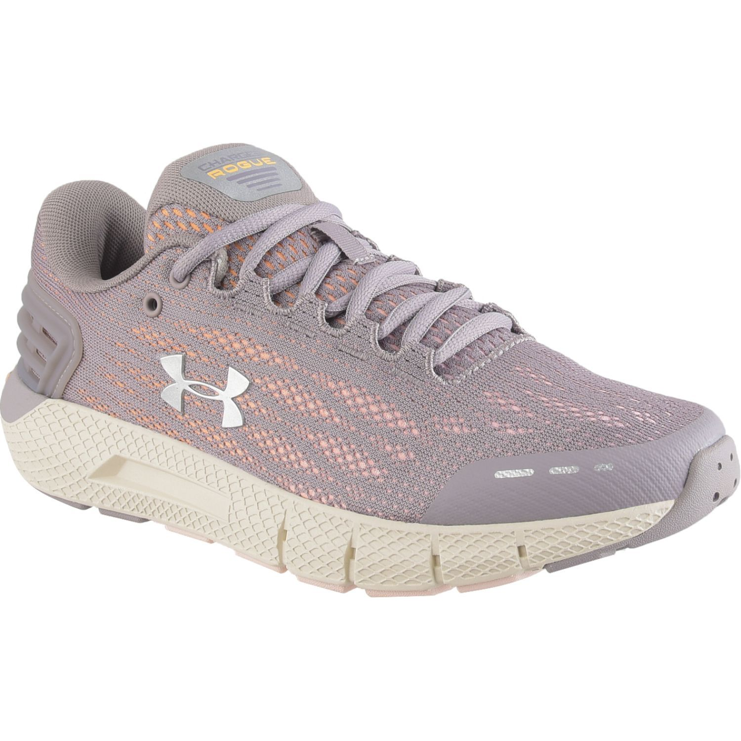 Under Armour Ua W Charged Rogue Taupe / Blanco Running en pista