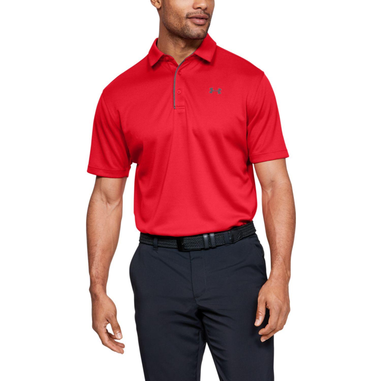 Under Armour tech polo Rojo Camisetas y Polos Deportivos