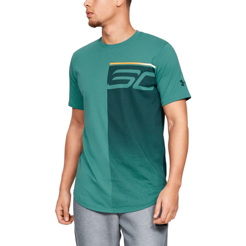 Under Armour sc30 logo fade away t Jade Camisetas y Polos Deportivos