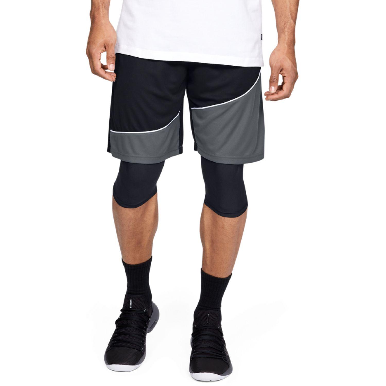 Under Armour UA Baseline 10IN Short Negro Shorts Deportivos