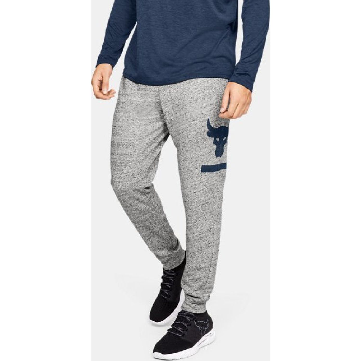 Under Armour project rock terry jogger Gris Pantalones Deportivos