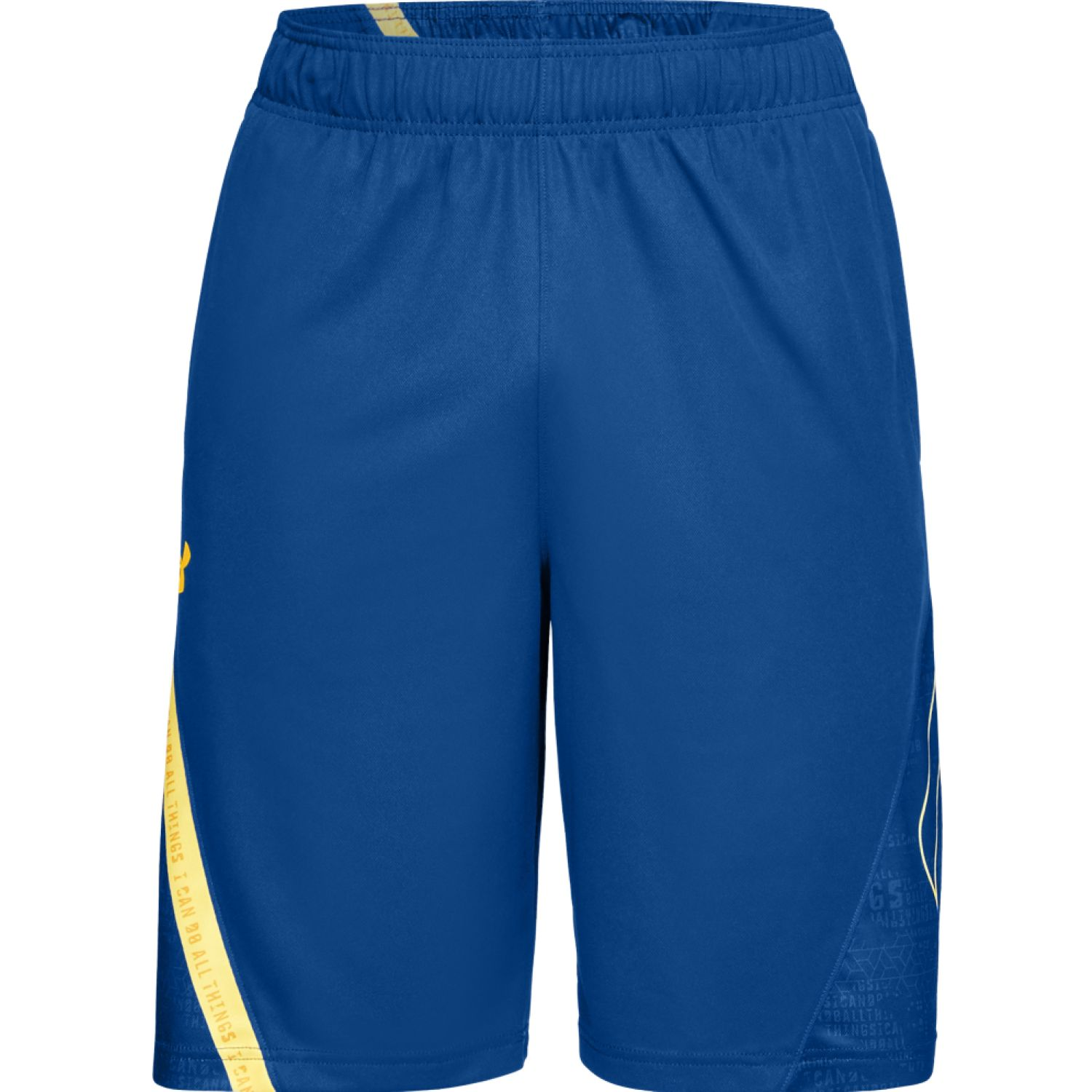 Under Armour Ua Curry 11in Short-Blu Azul / amarillo Camisetas y polos deportivos