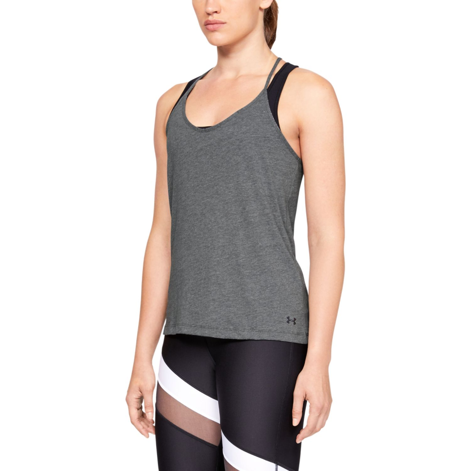 Under Armour solid fashion tank-gry Plomo Tank Tops