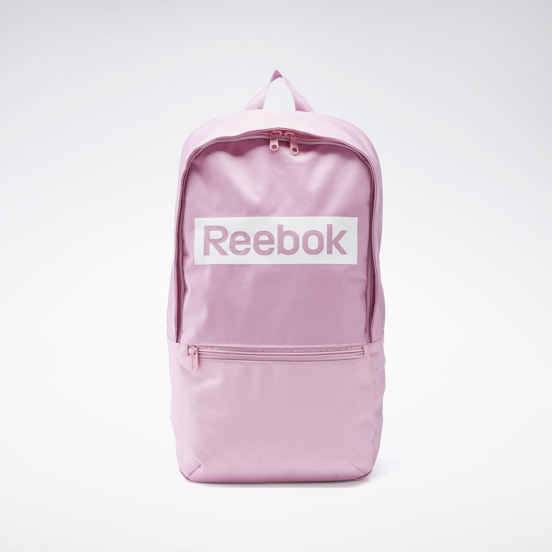 Reebok Linear Logo Bp Rosado / blanco Mochilas multipropósitos