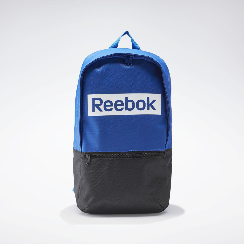 Reebok linear logo bp Azul / negro Mochilas Multipropósitos
