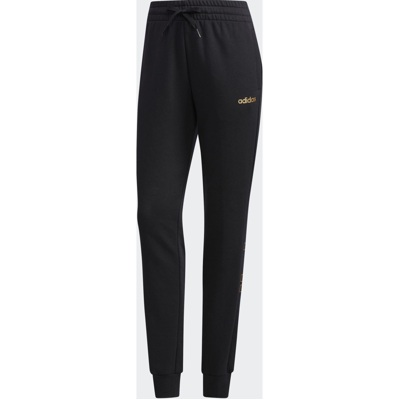 Adidas w e branded pt Negro / dorado Pantalones deportivos