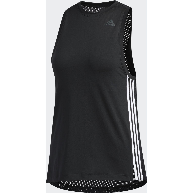 Adidas 3s Loose Tank Negro / blanco Camiseta sin mangas