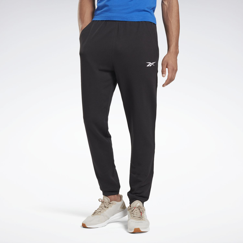 Reebok te linear logo ft jogger Negro Pantalones Deportivos