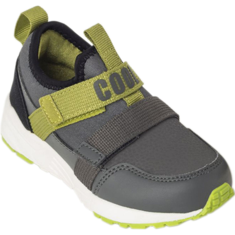 Colloky Zapatilla Cb 47370211 Velcro Plomo Zapatillas