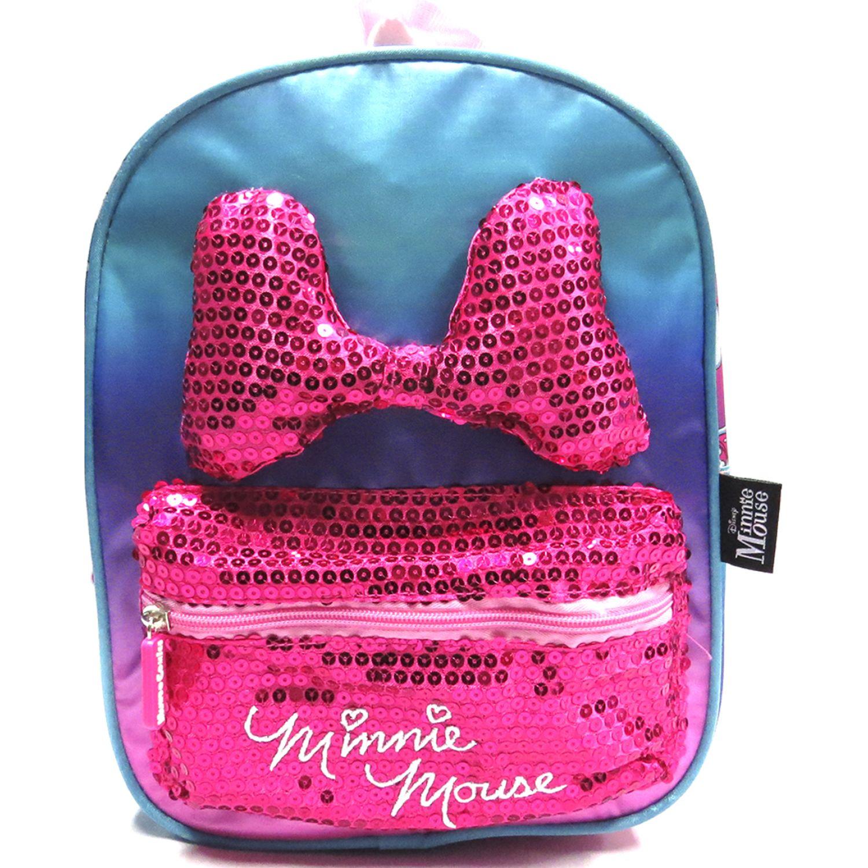 Minnie MOCHILA NIÑA Rosado / morado mochilas