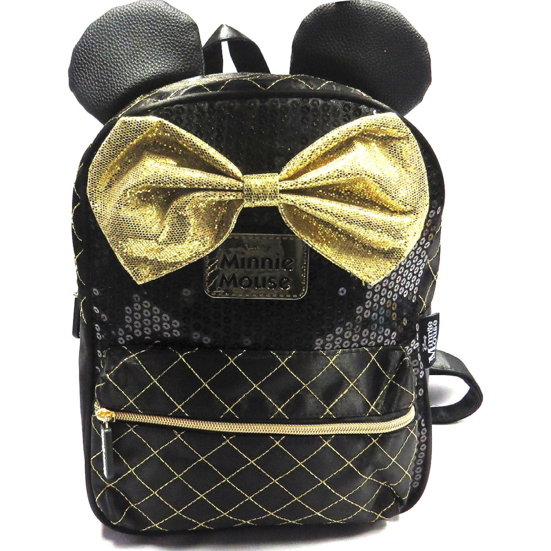 Minnie MOCHILA NIÑA Negro / amarillo mochilas