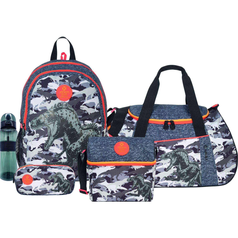 Xtrem set 5 pcs camo rex mega pack 993 Varios mochilas
