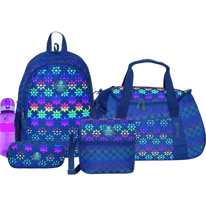 Xtrem set 5 pcs happy geo mega pack 993 Varios mochilas