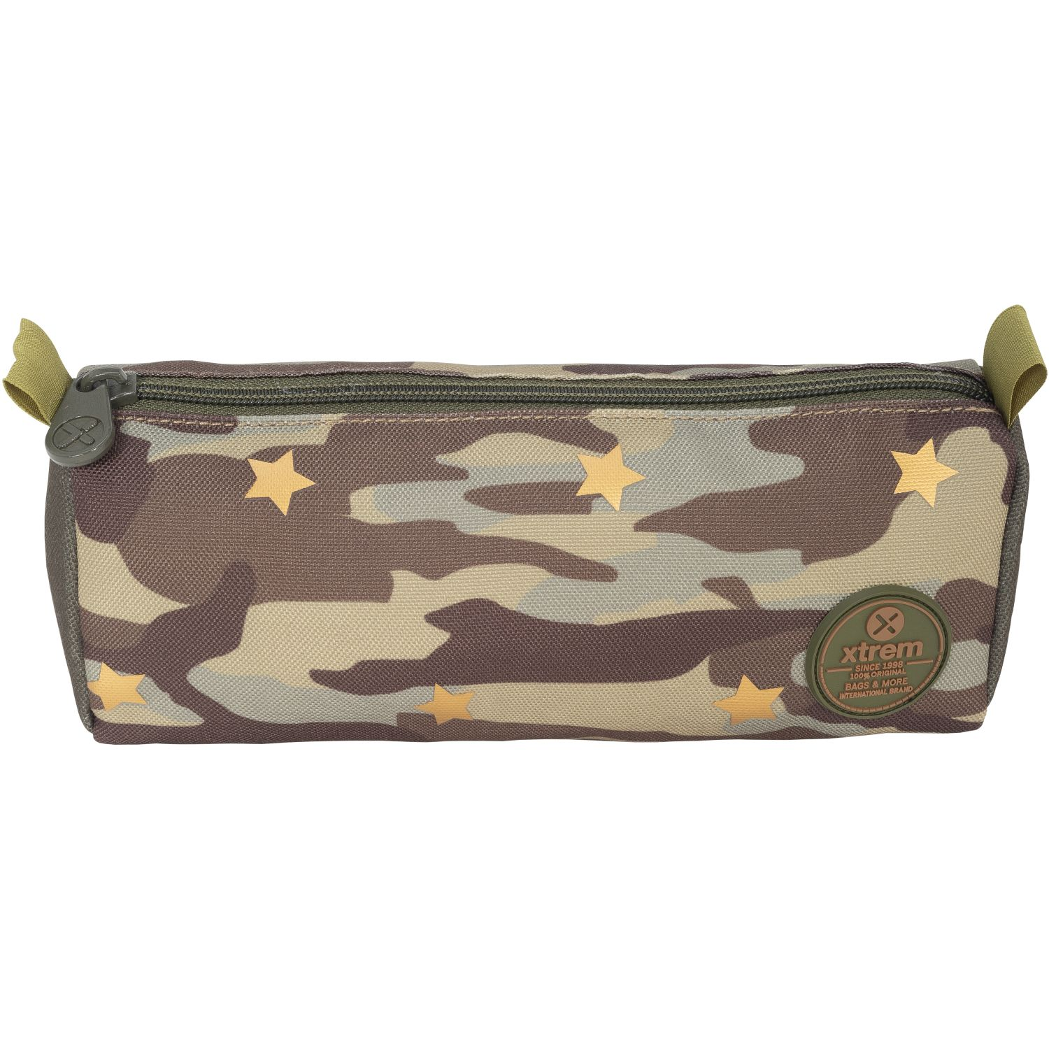 Xtrem Pencil Box CAMO STAR GREEN CRUSH 907 Varios portalápices