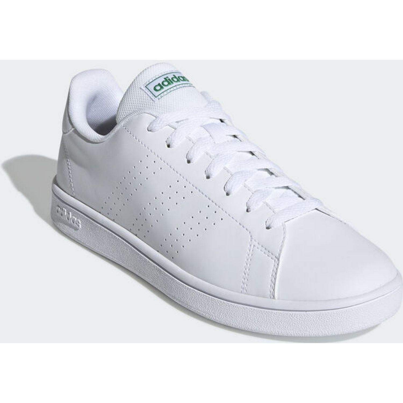 Adidas Advantage Base Blanco / verde Para caminar