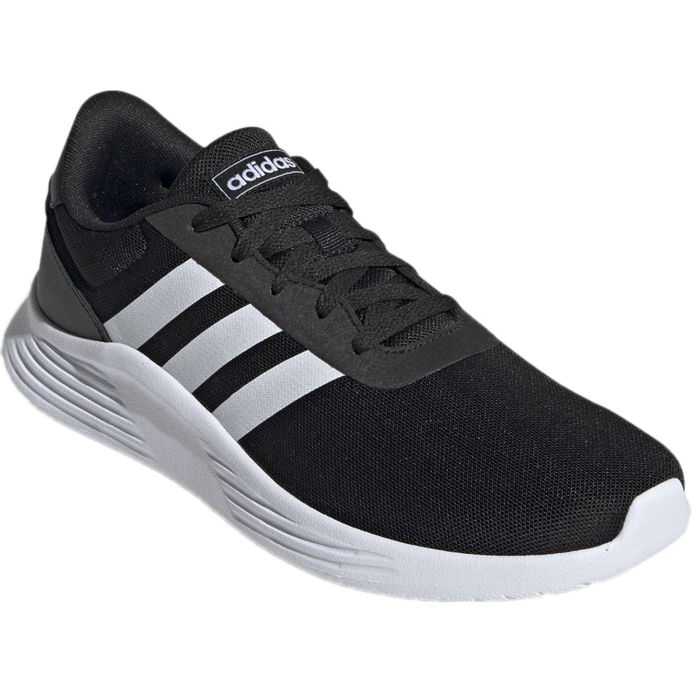 Adidas lite racer 2.0 Negro / blanco Running en pista