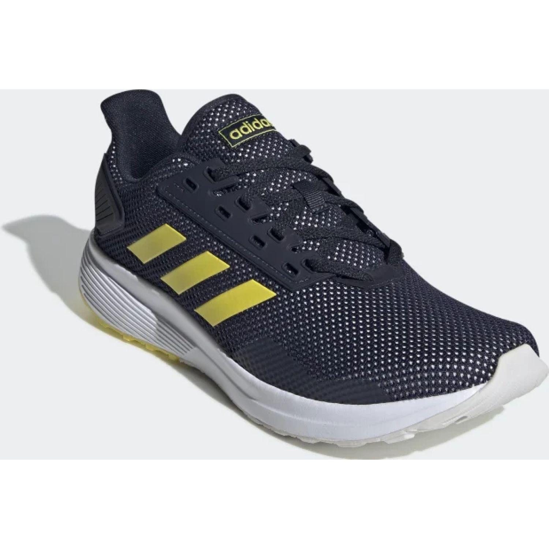 Adidas duramo 9 Azul / amarillo Running en pista ...