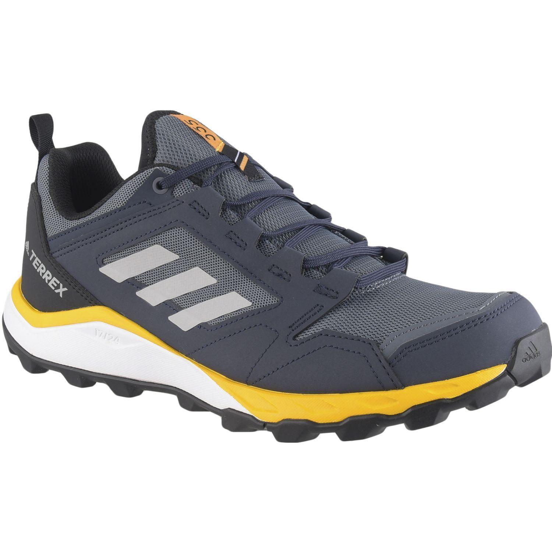 Adidas Terrex Agravic Tr Azul / amarillo Zapatos de senderismo
