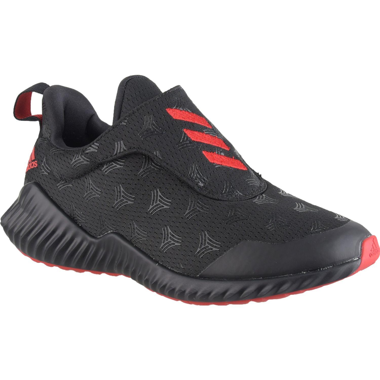 Adidas fortarun tango ac k Negro / rojo Muchachos