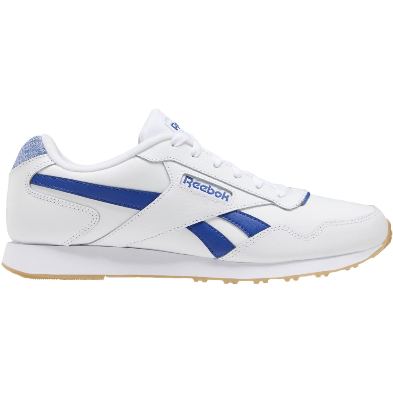 Reebok reebok royal glide lx Blanco / azul Running en pista