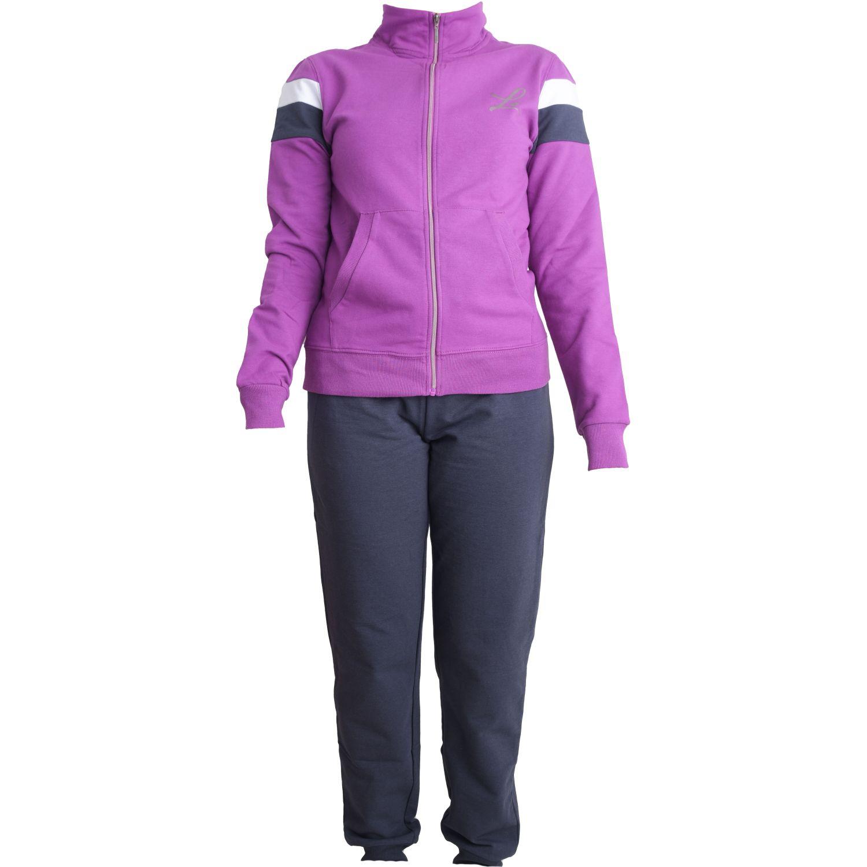 Lotto Suit Dehia W Stc Morado / negro Conjuntos deportivos