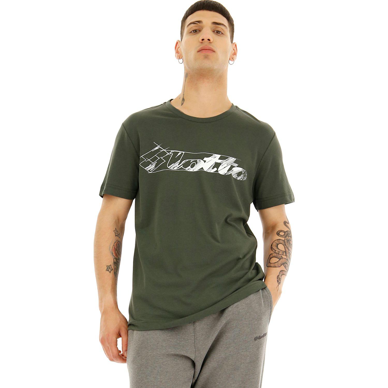 Lotto Prisma Tee Js Olivo Camisetas y polos deportivos