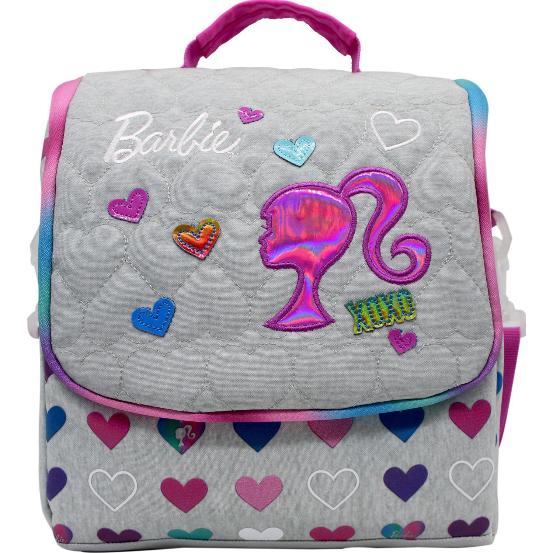 Barbie lonchera barbie Gris / fucsia Loncheras