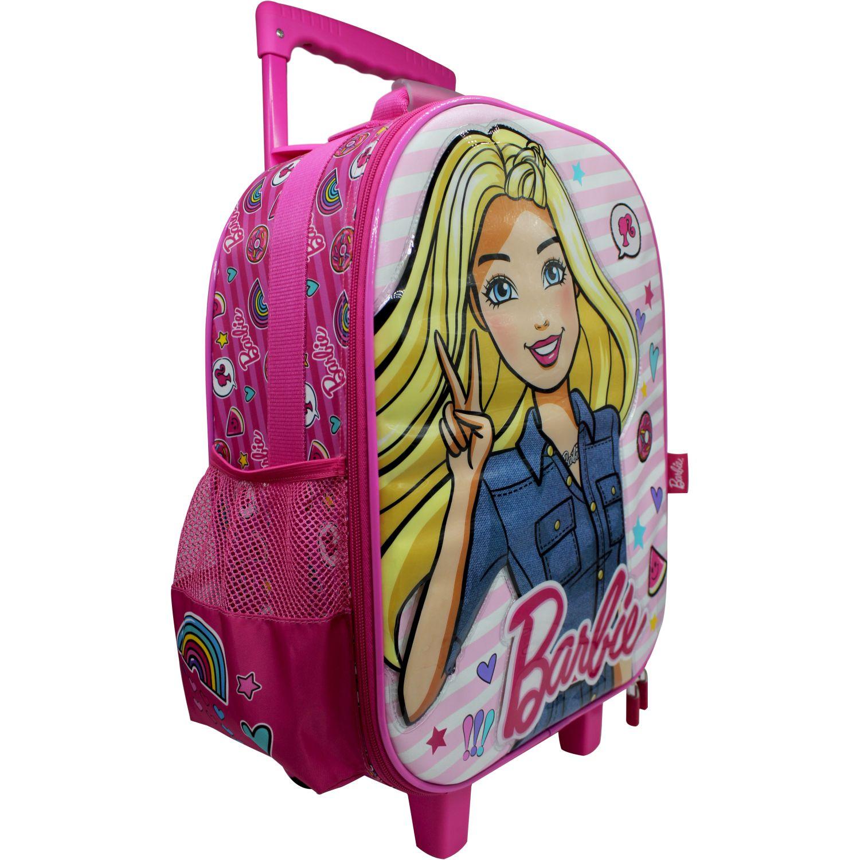 Barbie Maleta Con Ruedas Barbie ROSADO / FUCSIA Mochilas