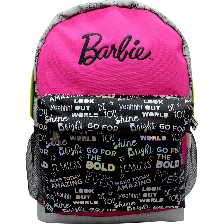 Barbie Mochila  BARBIE Fucsia / gris Mochilas