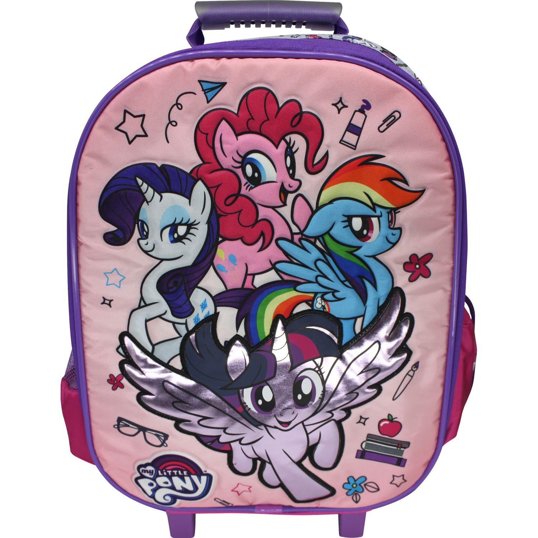My Little Pony Maleta con ruedas MY LITTLE PONY Rosado / morado Mochilas