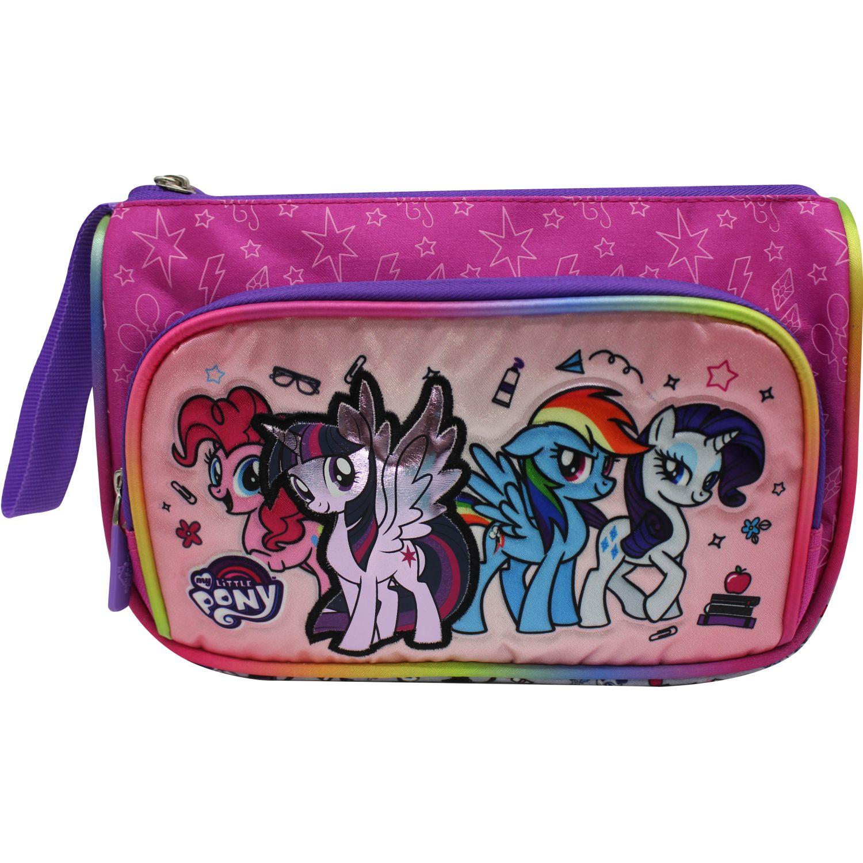 My Little Pony Cartuchera MY LITTLE PONY ROSADO / FUCSIA portalápices