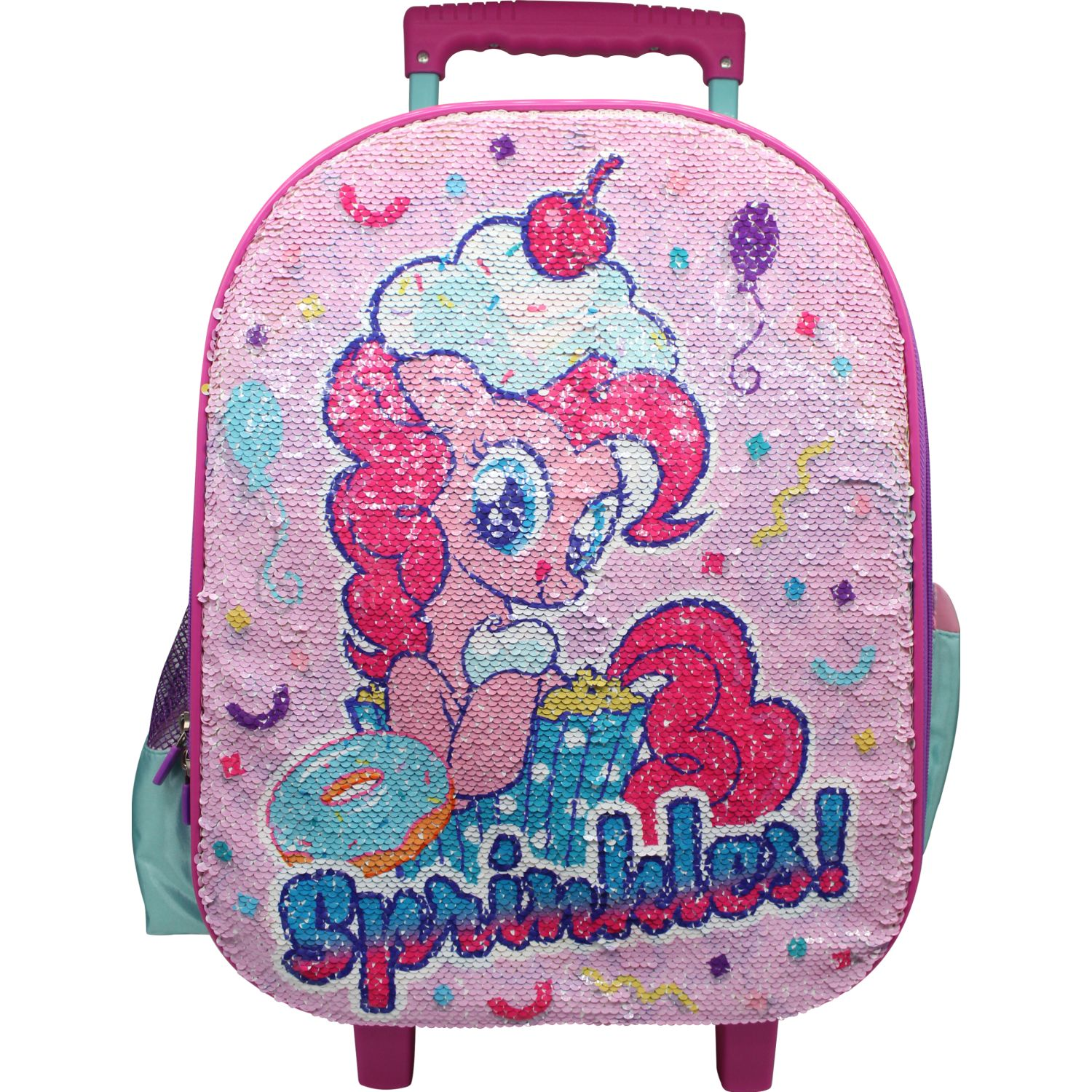 My Little Pony Maleta Con Ruedas My Little Pony Rosado / celeste Mochilas