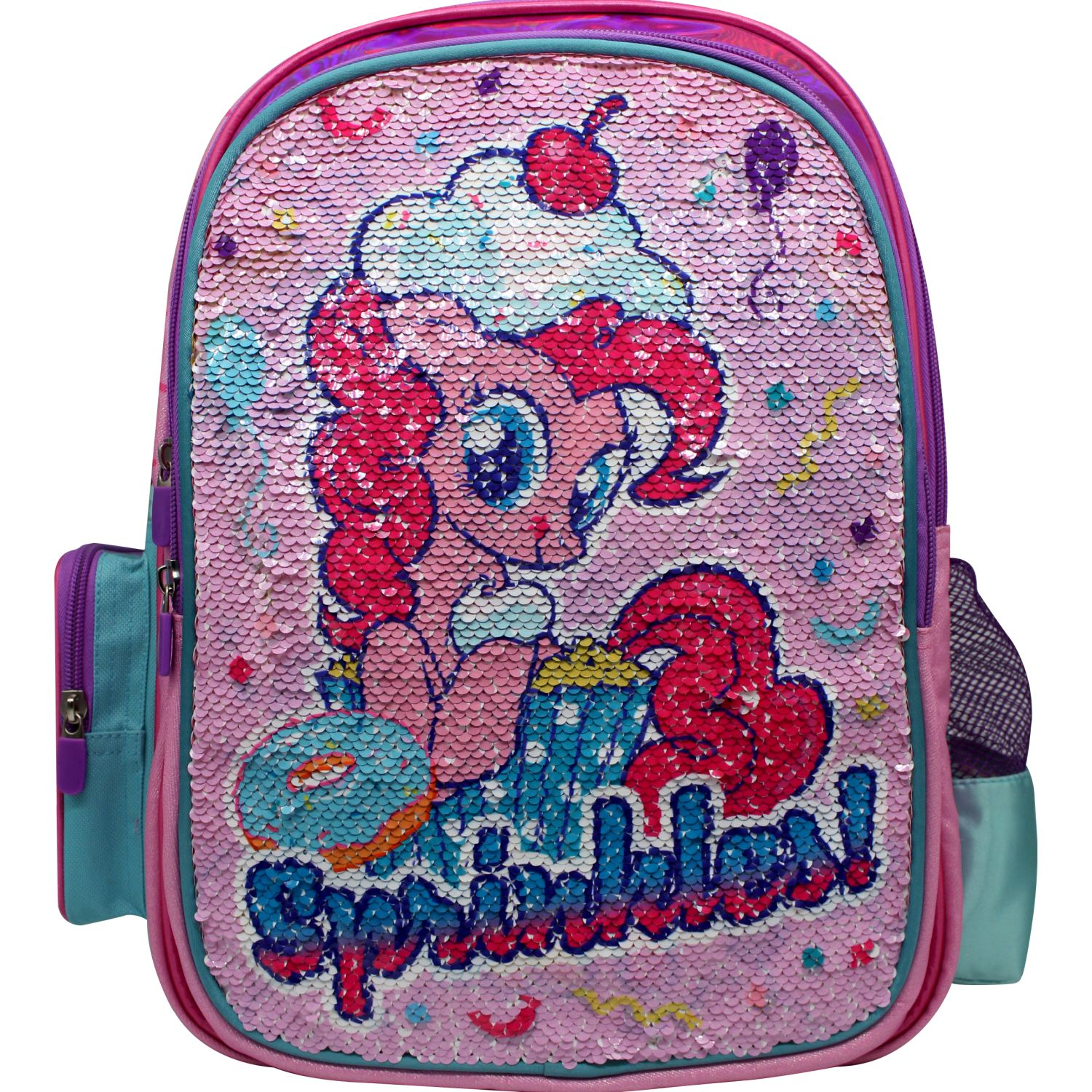 My Little Pony mochila  my little pony Rosado / celeste mochilas
