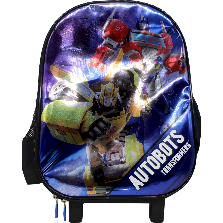 Transformers Maleta Con Ruedas Transformers Azul / negro Mochilas