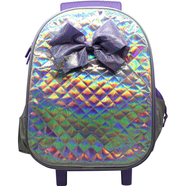Jojo Siwa maleta con ruedas jojo siwa Gris / lila mochilas