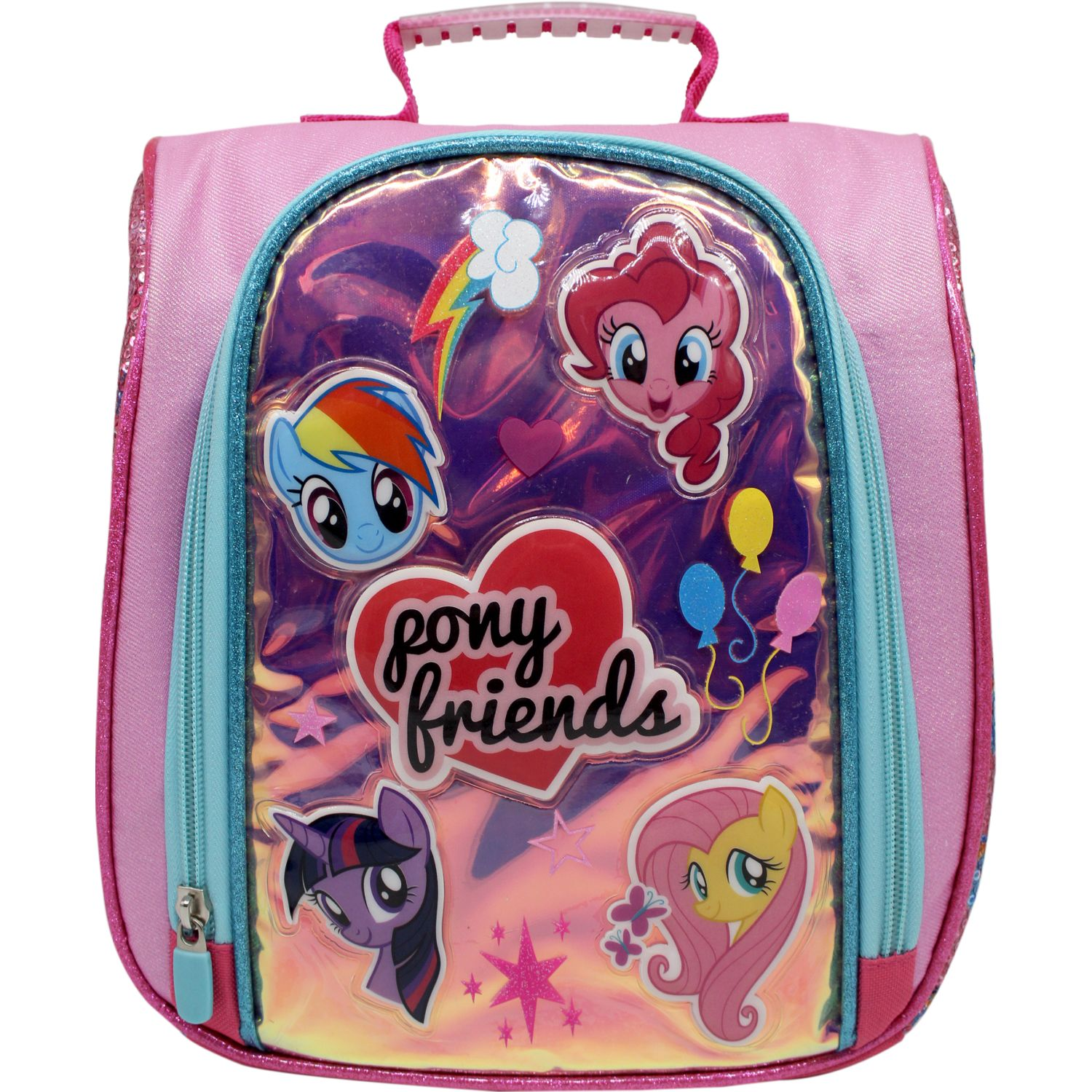 My Little Pony lonchera my little pony Rosado / celeste Loncheras