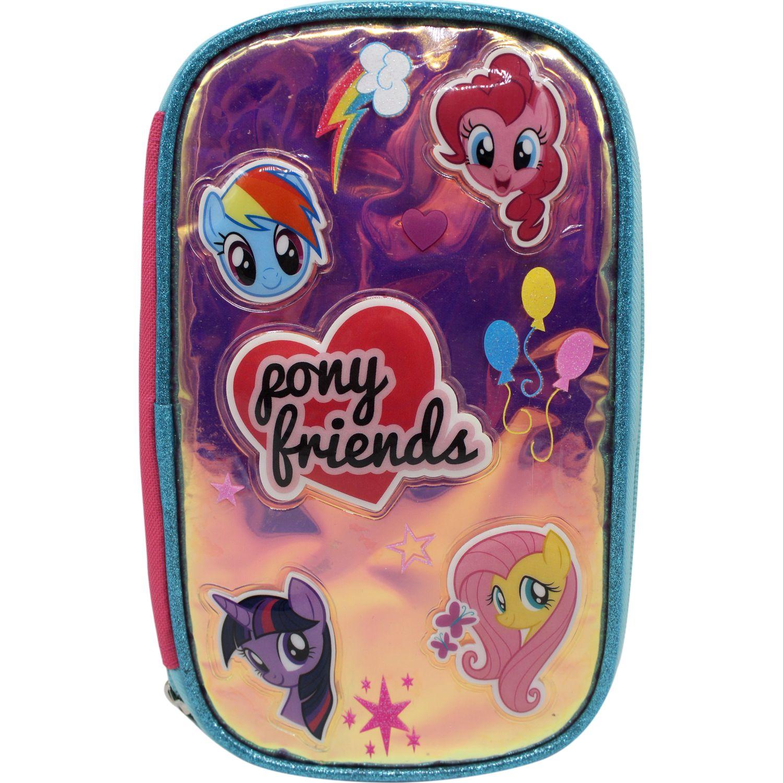 My Little Pony Cartuchera MY LITTLE PONY Rosado / celeste portalápices