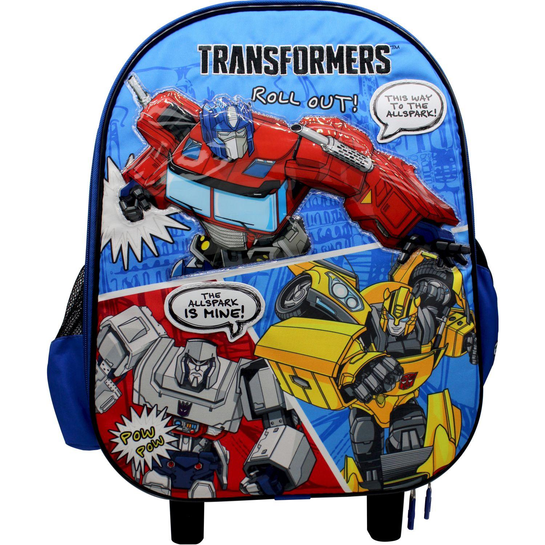 Transformers Maleta con ruedas TRANSFORMERS Azul / amarillo Mochilas