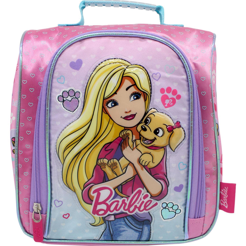 Barbie lonchera barbie Rosado / celeste Loncheras