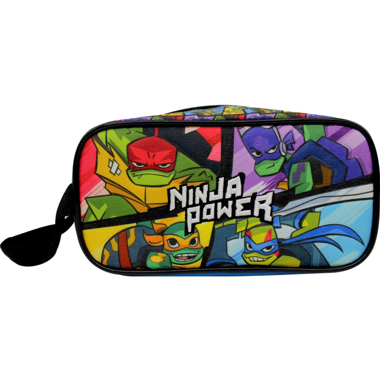 TORTUGAS NINJA Cartuchera Tortugas Ninja Azul / verde Portalápices