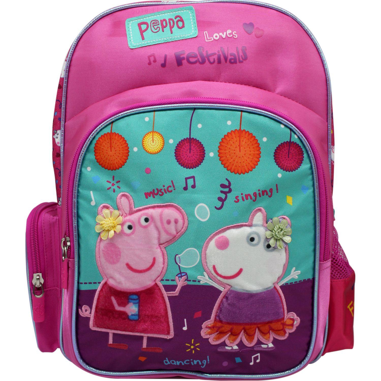 Peppa Pig Mochila Peppa Pig FUCSIA / JADE Mochilas