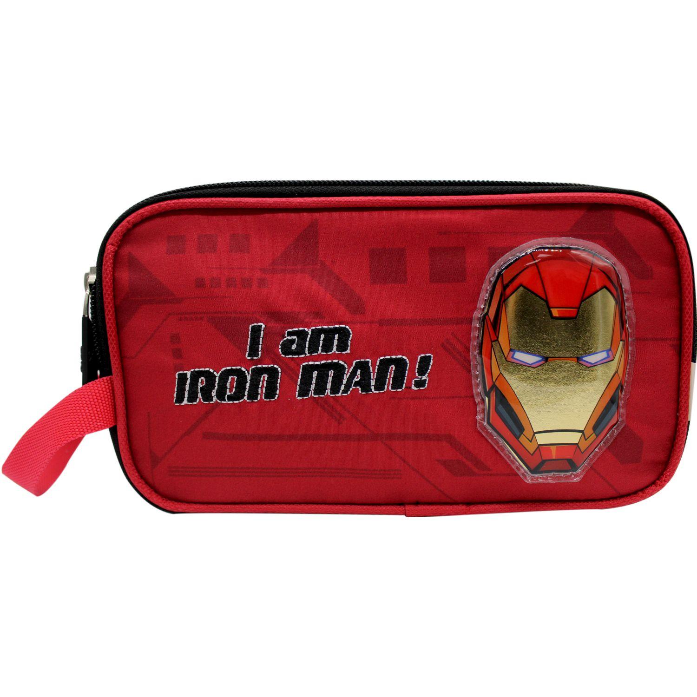 Avengers Cartuchera THE AVENGERS Rojo / negro portalápices