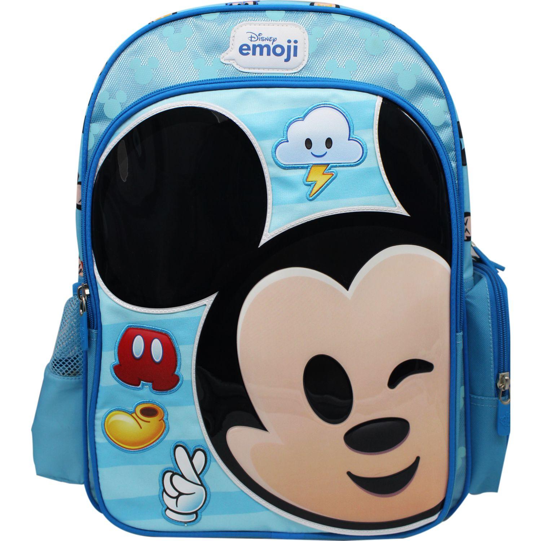 Disney mochila disney emoji Celeste / negro mochilas