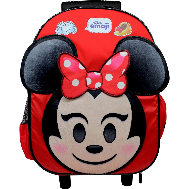 Disney maleta con ruedas disney emoji Rojo / negro mochilas